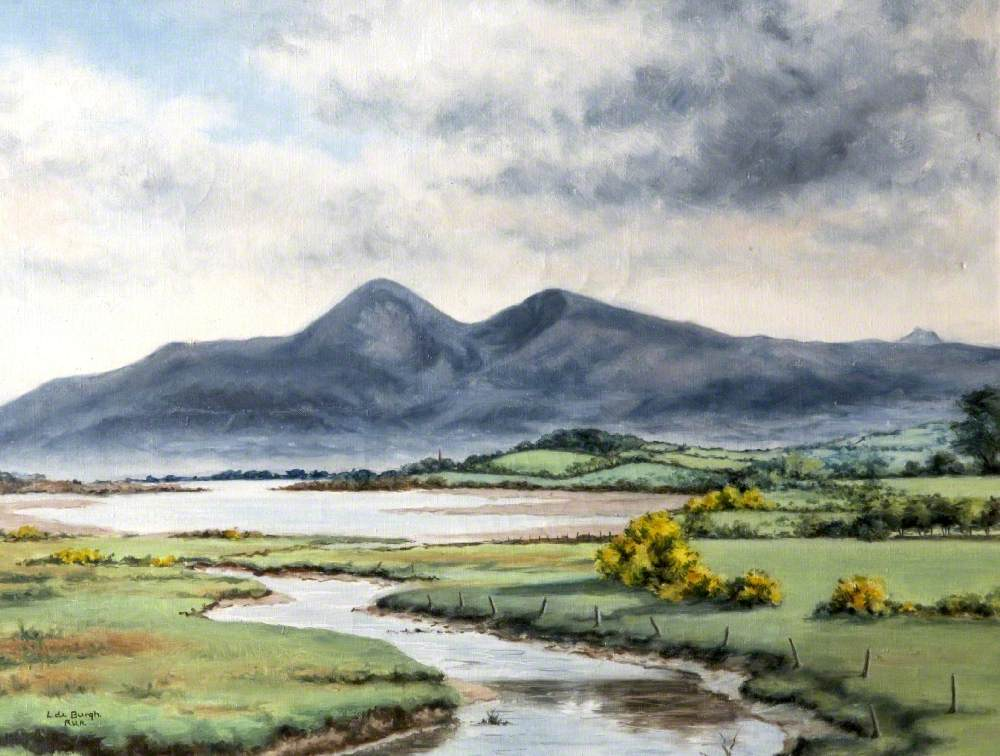 The Mournes from Blackstaff Bridge