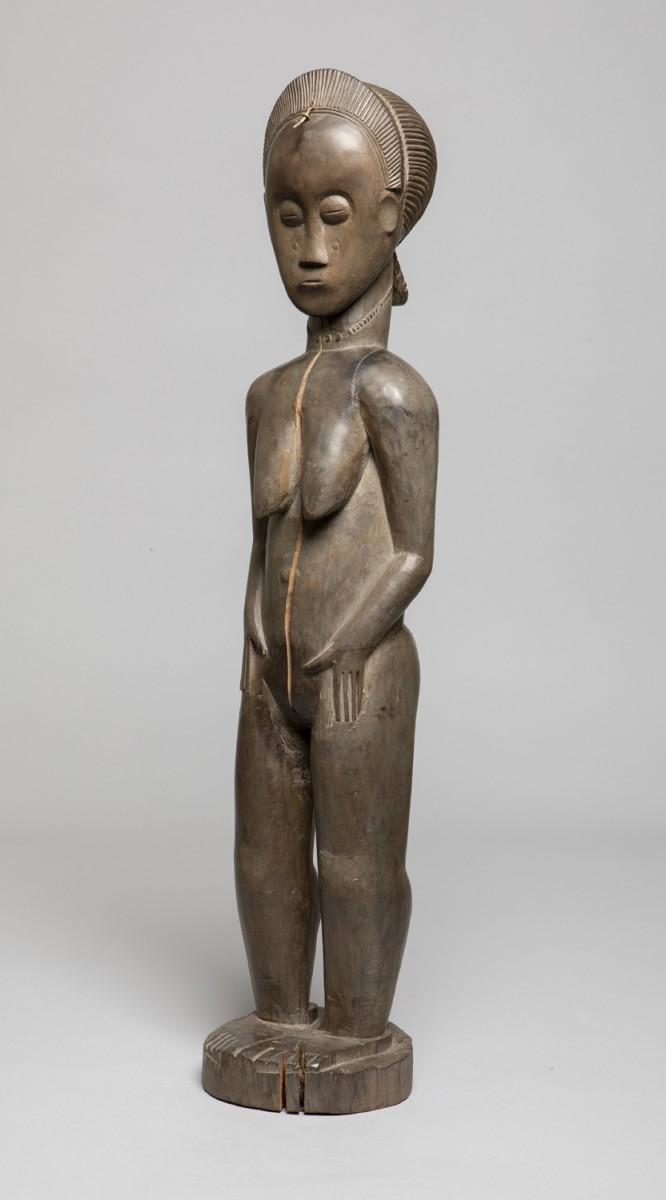 African Nude Female Figure