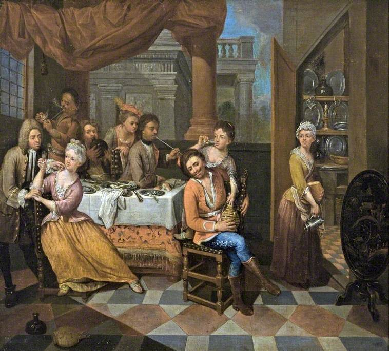 Banqueting Scene