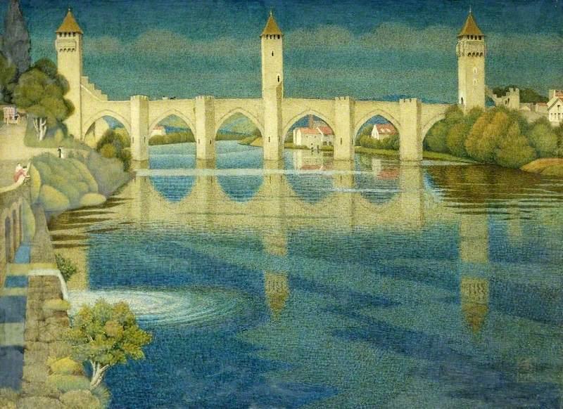 The Great Bridge at Cahors, France