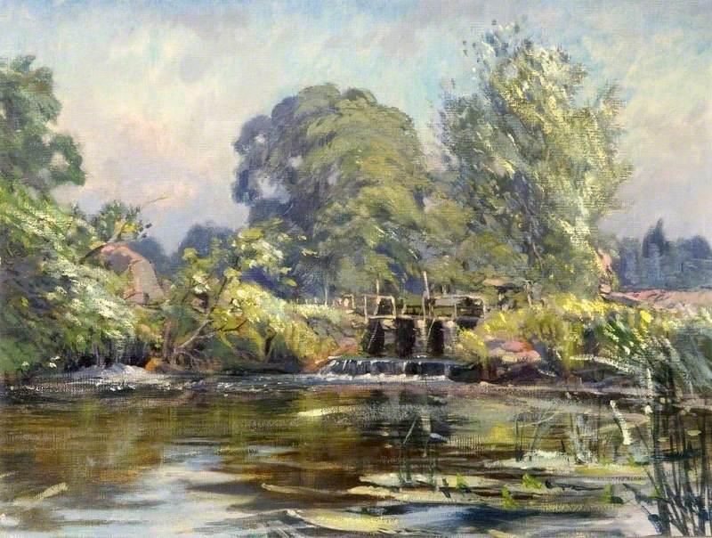 Mill Pond, Wimborne, Dorset