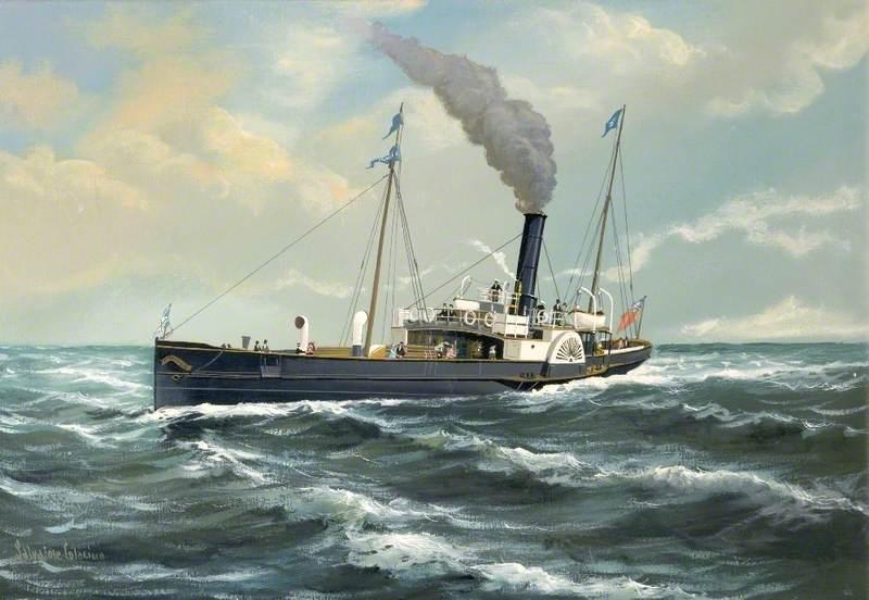 Paddle Steamer 'Premier'