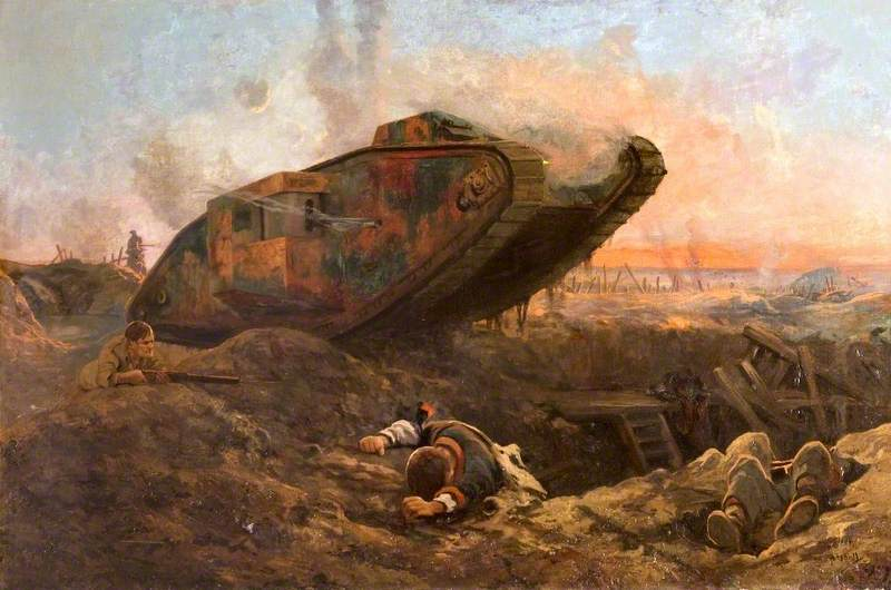 A Tank in Action