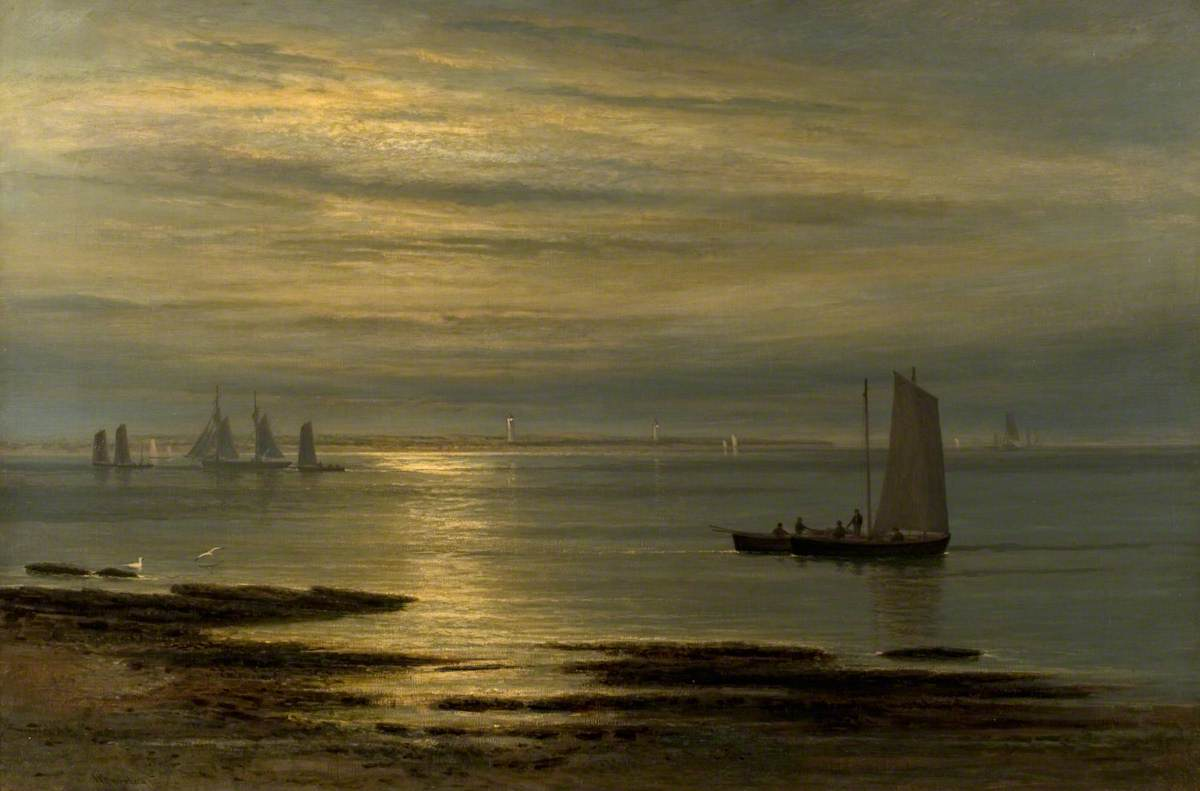 The Mouth of the Tay, Moonrise