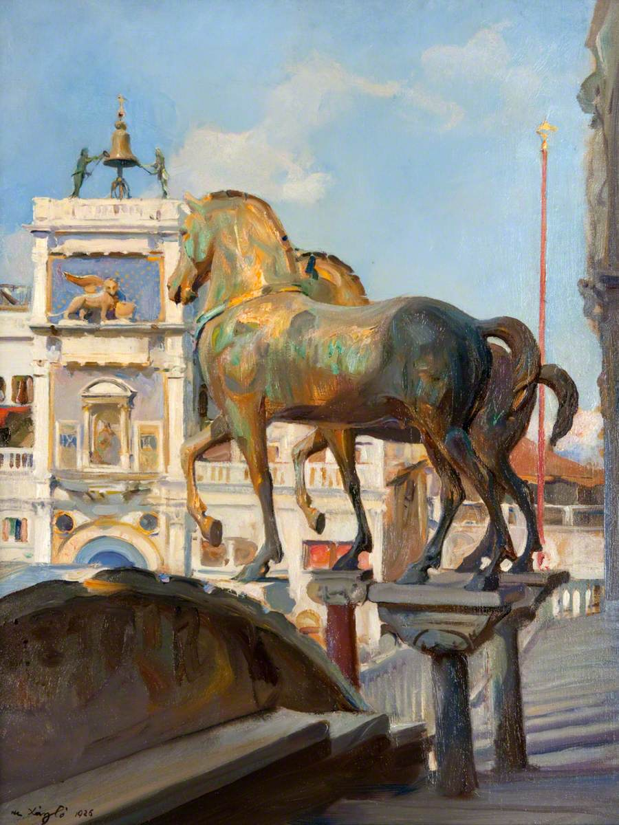 The Bronze Horses of St Mark's