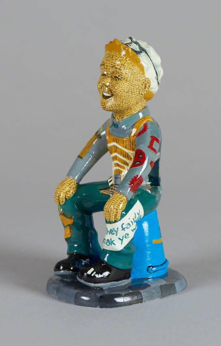 'Oor Wullie': Verdant Works Statue
