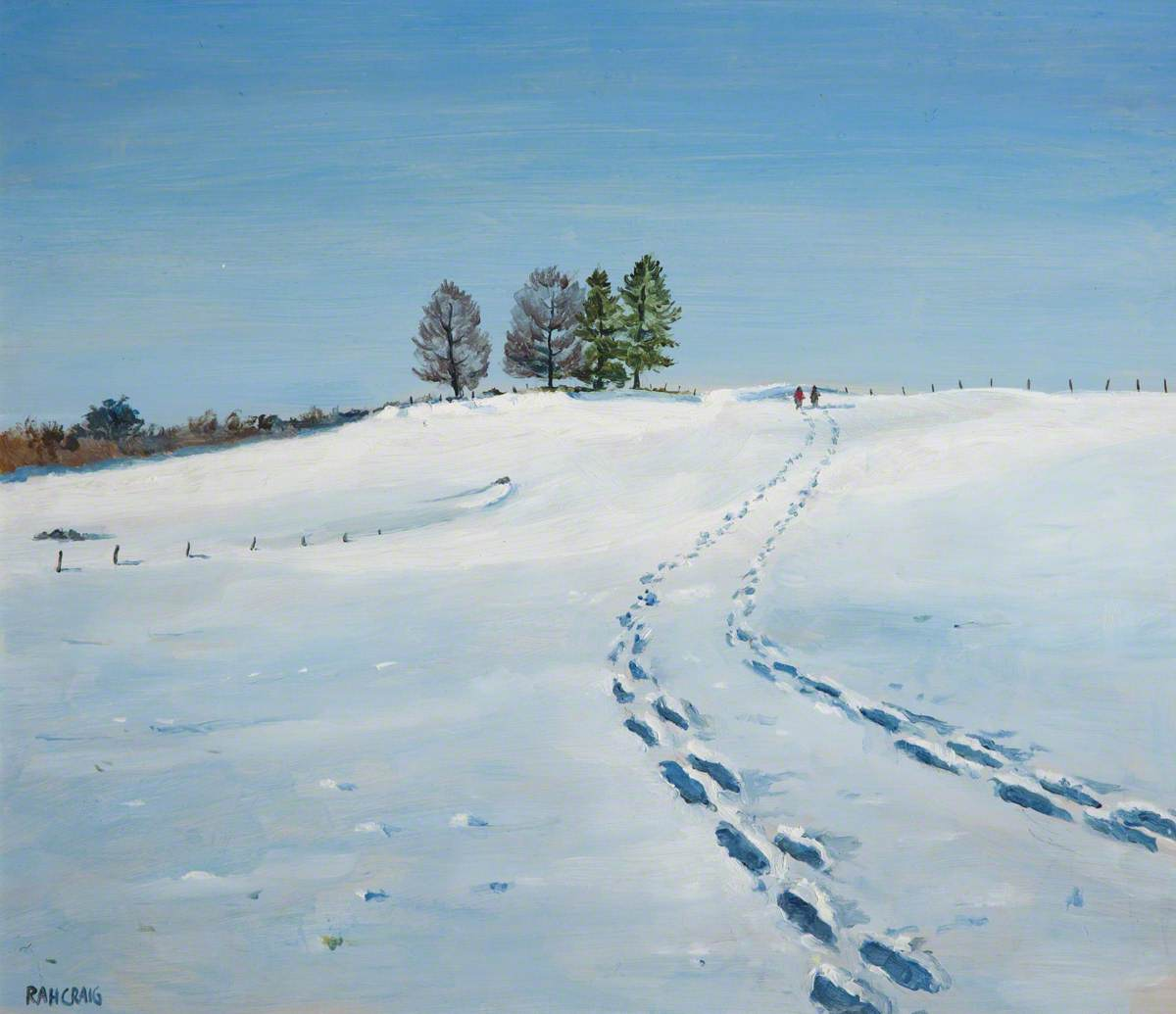 Footprints in the Snow | Art UK