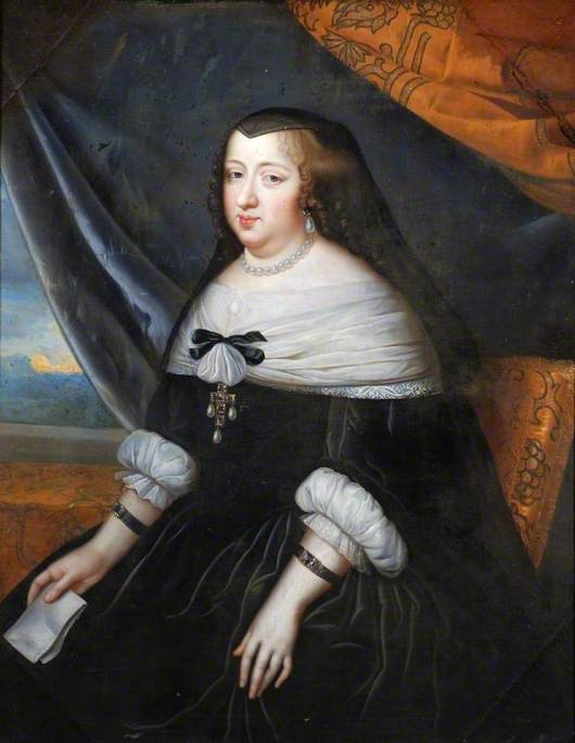 Anne of Austria (1601–1666), Queen of France, Consort of Louis ...