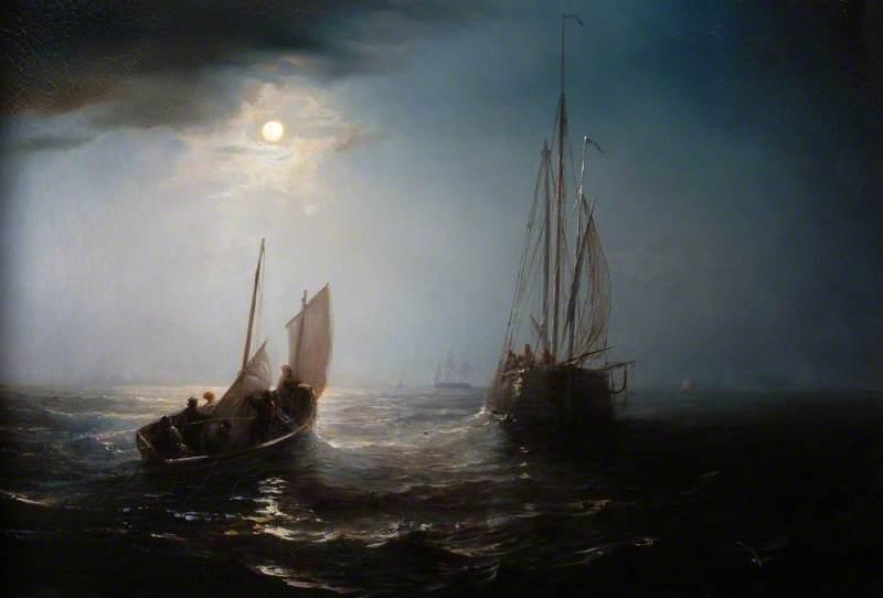 A Marine View, Moonlight