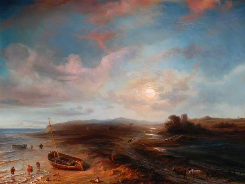 Coast View in Scotland