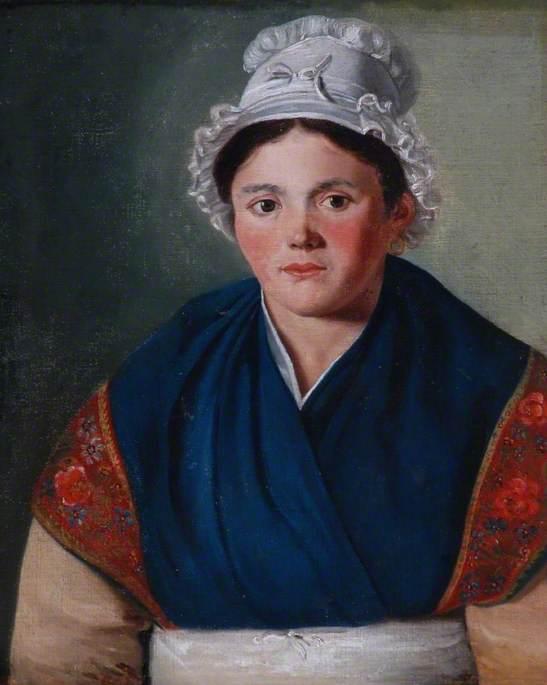 Peasant Woman of Burgundy, France
