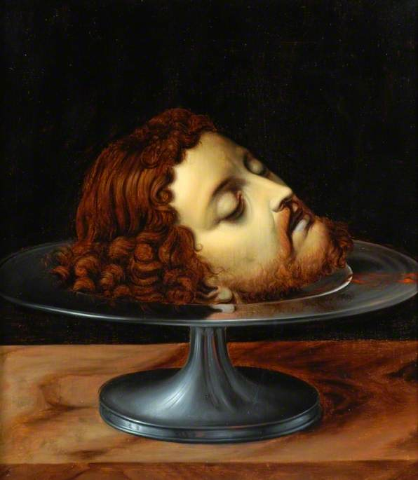 The Head of the Baptist on a Tazza