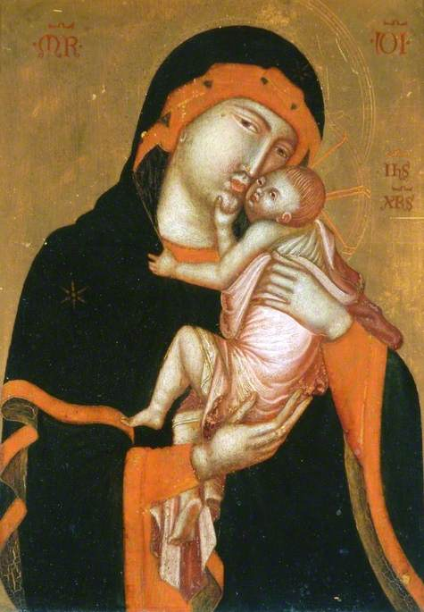 Icon with the Virgin and Child