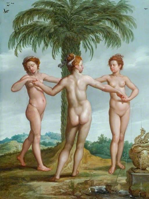 The Three Graces (Aglaia, Thalia and Euphrosyne)