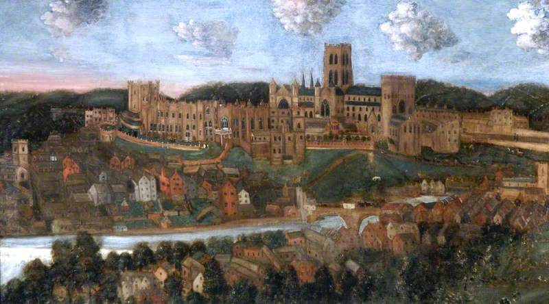 A Panorama of Durham City from the North West