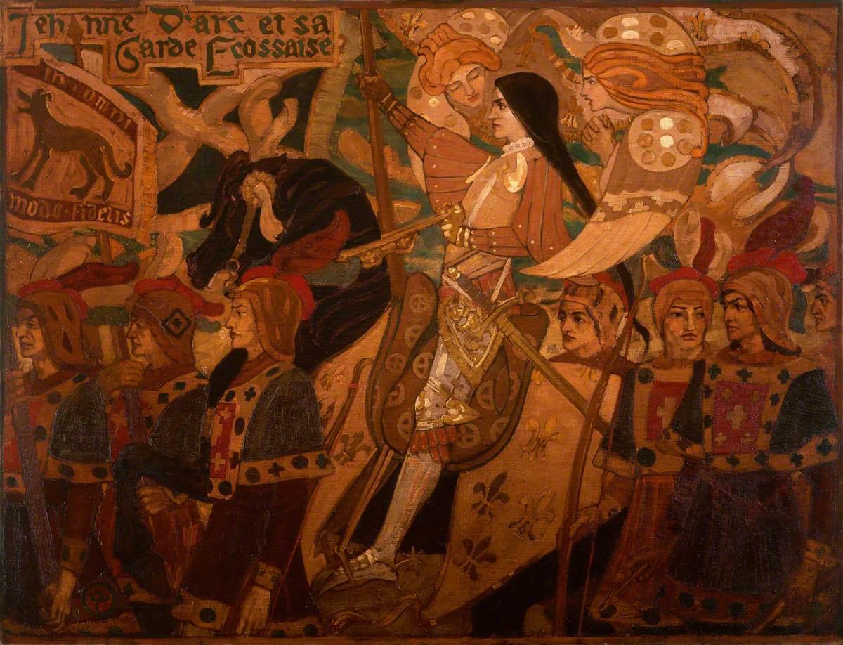 Jehanne d'Arc et sa garde ecossaise