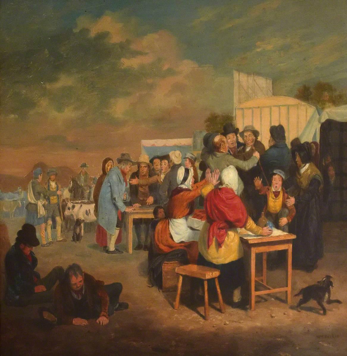 A Hallow Fair Scene
