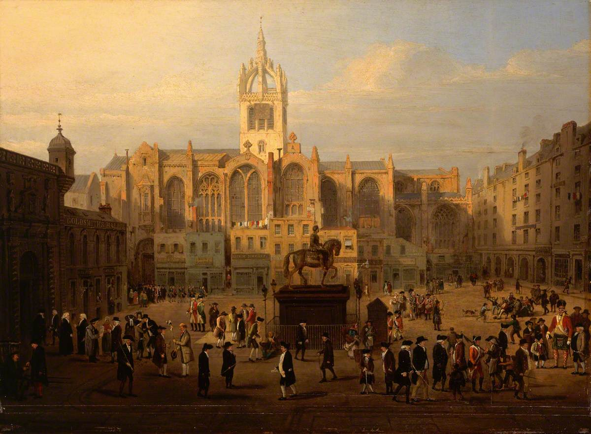 The Parliament Close and Public Characters of Edinburgh, Fifty Years Since