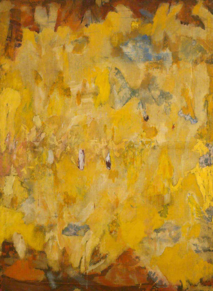 Abstract in Yellow and Black