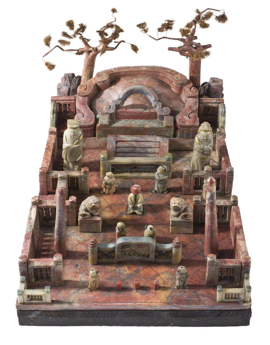 Model of a Chinese Mandarin's Tomb*