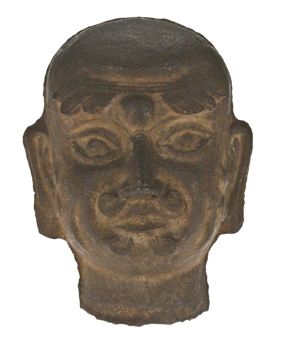 Head (possibly of the Monk, Damo)*