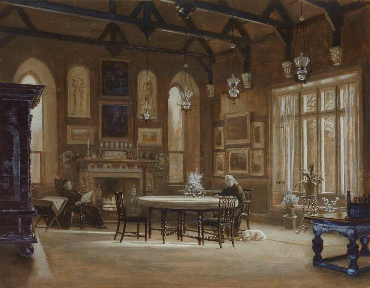 Banqueting Hall at Penkill, Ayrshire