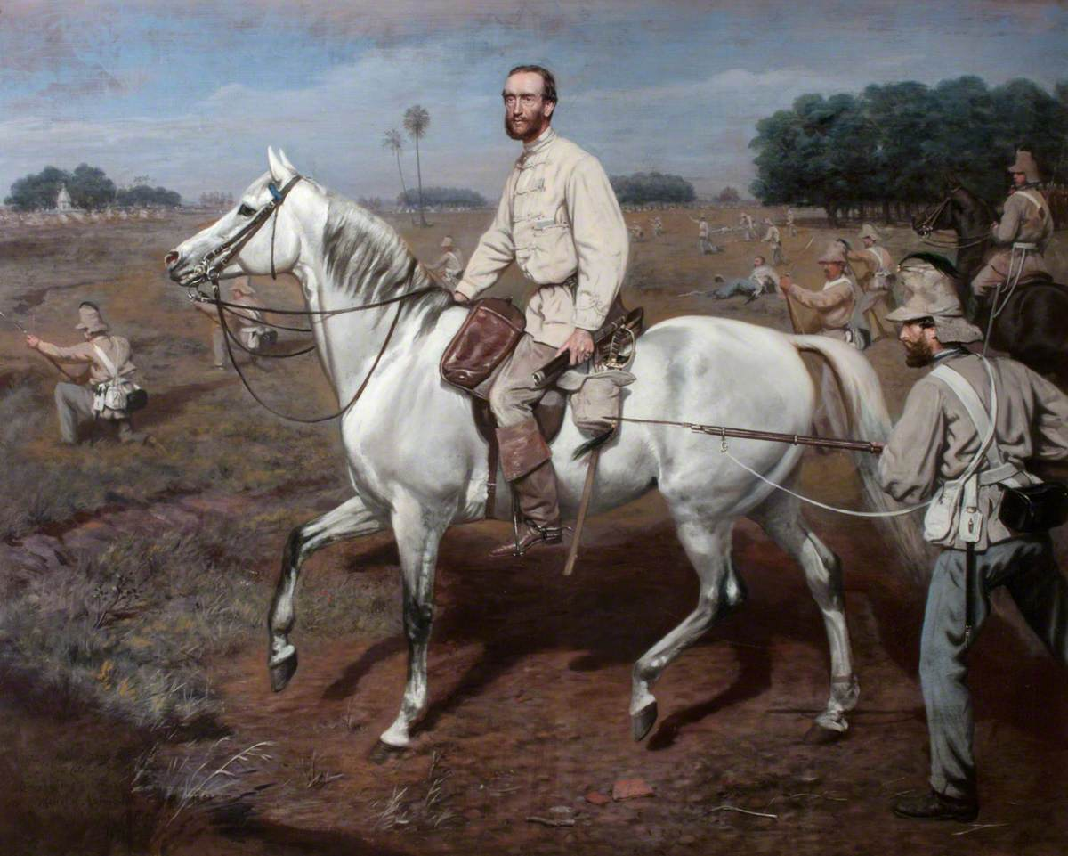 General Lord Mark Kerr in India Kit