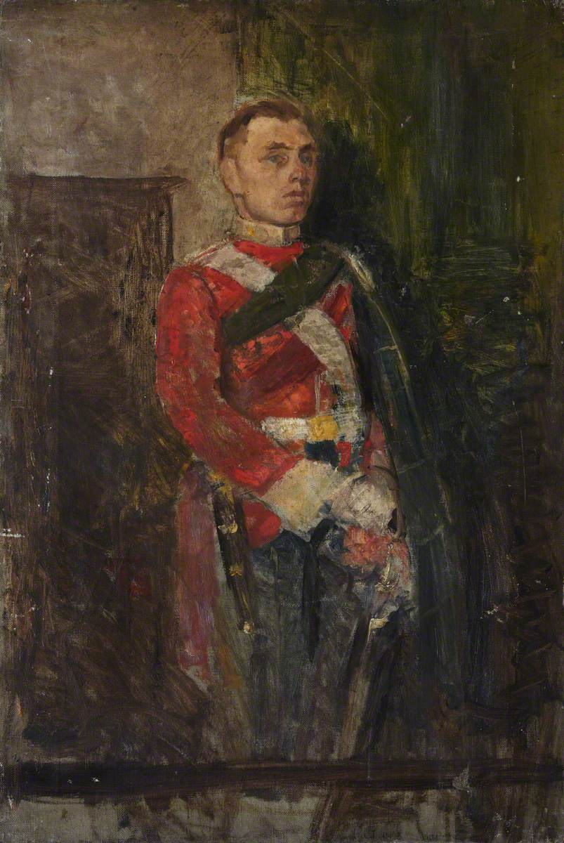 An Officer of the Highland Light Infantry
