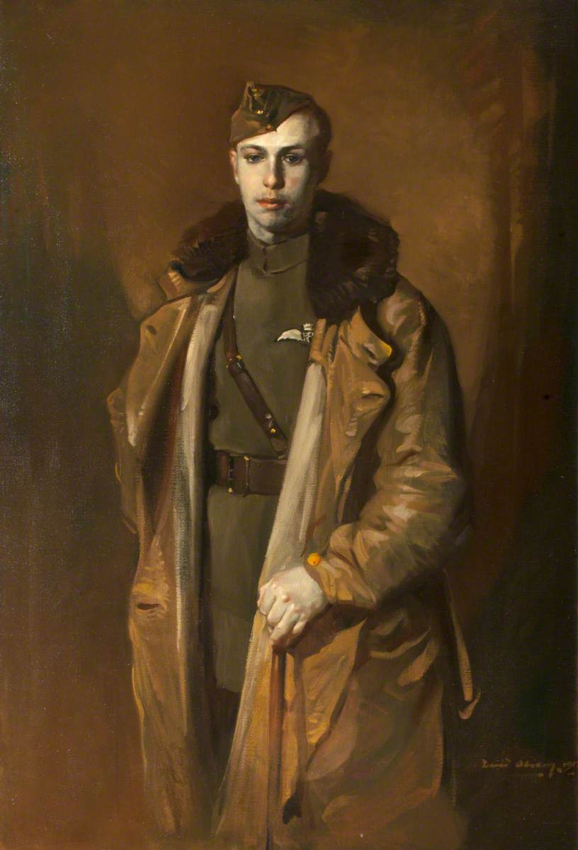 2nd Lieutenant J. P. C. Mitchell