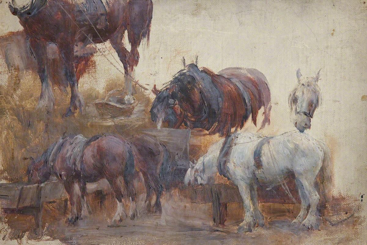 Studies of Farm Horses