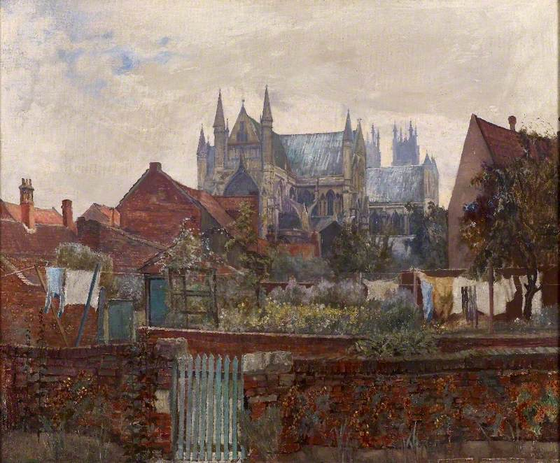 Beverley Minster from the Friary, East Riding of Yorkshire