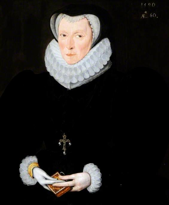Lady Catherine Constable (d.1591), Daughter of Henry Nevil, Earl of Westmorland, Second Wife of Sir John Constable