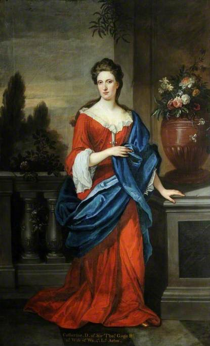 Catherine, Daughter of Sir Thomas Gage and Second Wife of Walter, 3rd Lord Aston of Tixall