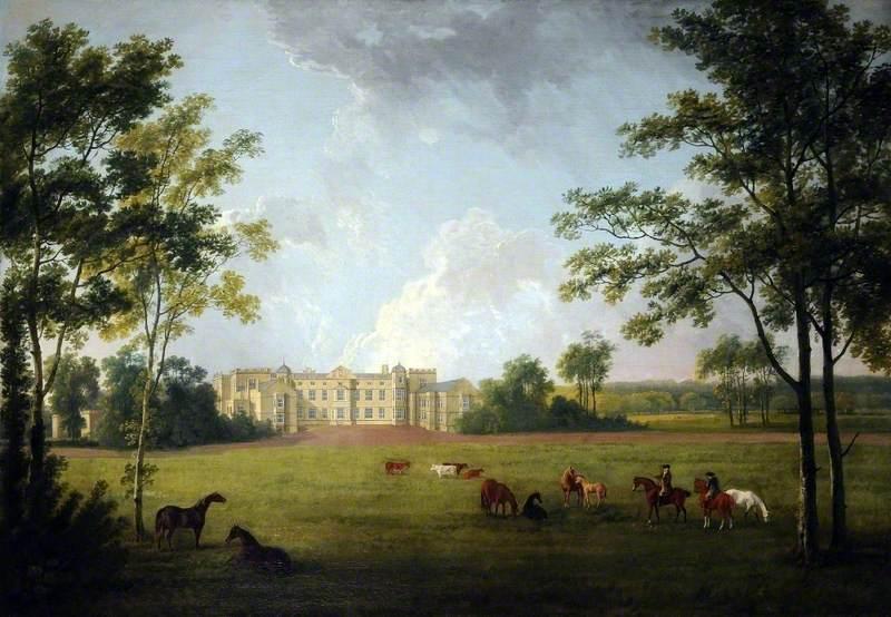 The Entrance Front, Burton Constable