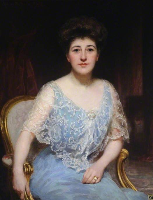 Edith Smyth-Piggot (d.1937), Wife of Lieutenant Colonel Raleigh Chichester Constable