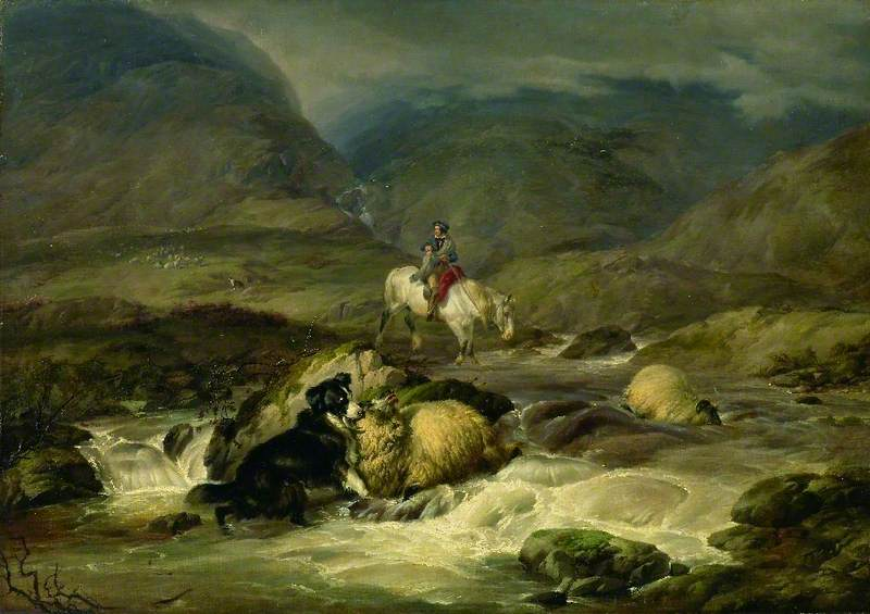A Spate in the Highlands