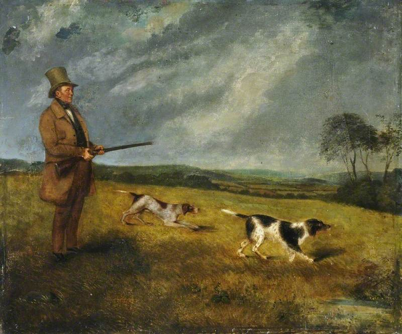 Richard Spruce with Dogs