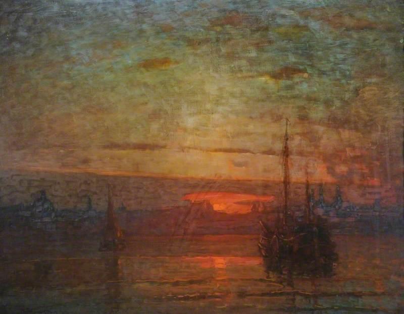 Sunset, Dordrecht, The Netherlands