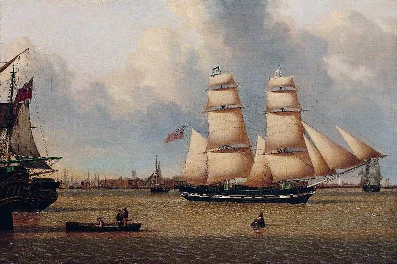 The Brig 'Helen' off Hull
