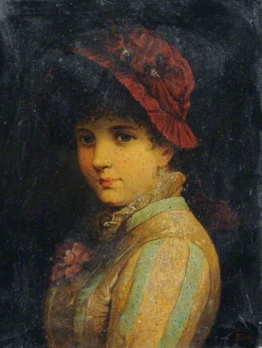 Portrait of a Lady in a Red Hat