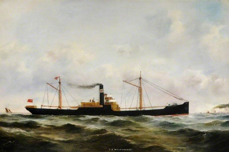 SS 'Weltondale' (Fair Weather)