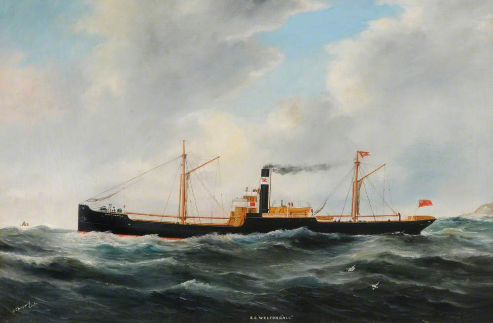 SS 'Weltondale' (Foul Weather)