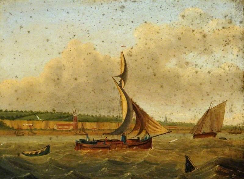 Humber Sloop on Coastal Waters