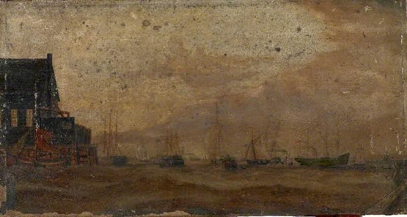 Ships in a Dock*