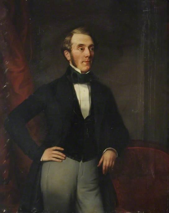 Portrait of a Member of the Ringrose Family of Cottingham