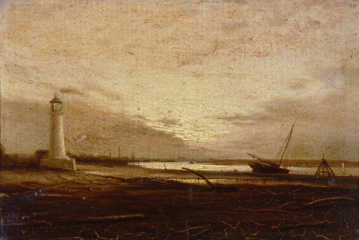 Sunrise: Eastern Arms of Shoreham Harbour, West Sussex