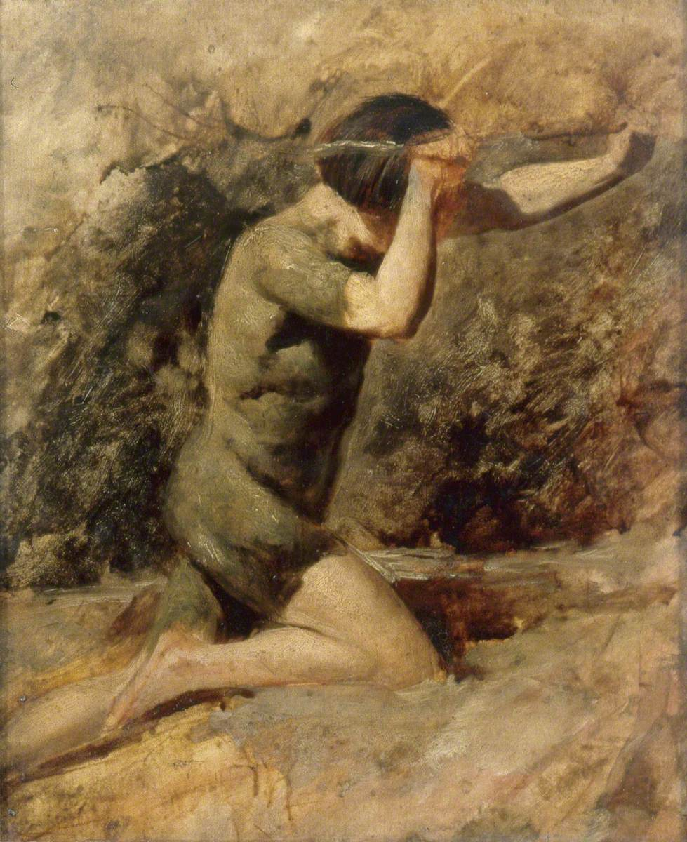 Study for 'Cain'