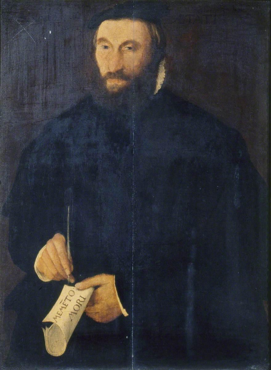 Portrait of a Man ('Memento Mori')