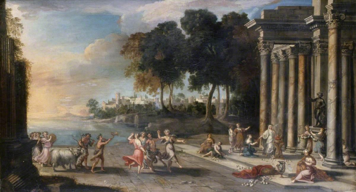 A Festival in Honour of Bacchus