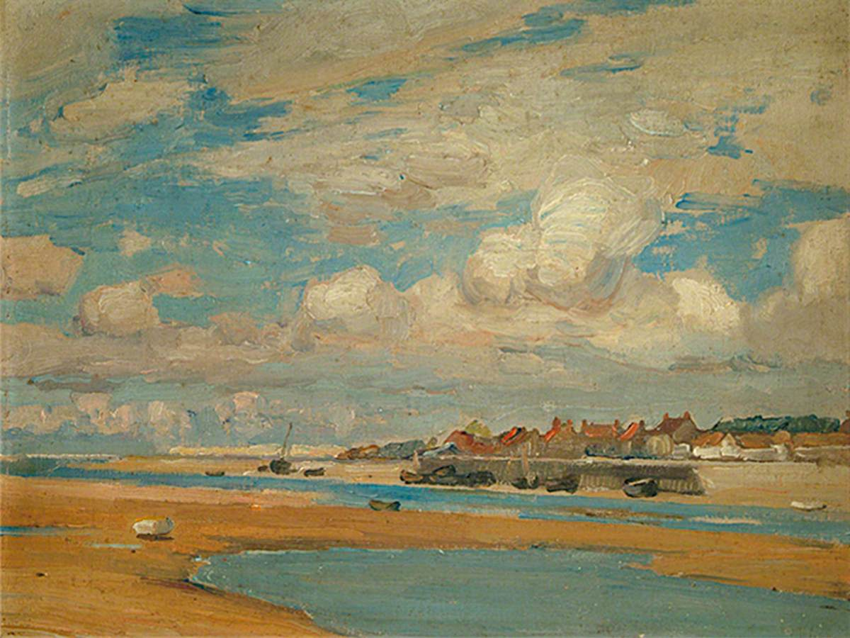 Estuary at Étaples, France
